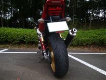 スカラくんさんのCB400 SUPER FOUR スペック3 リア画像