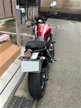 はじめてのヤマハさんのXSR700 リア画像