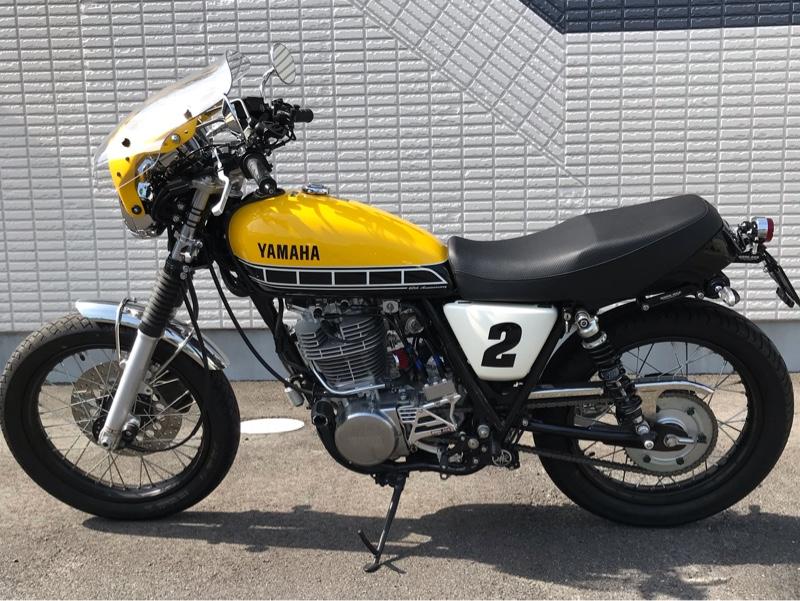 ヤマハ SR400 60th Anniversary