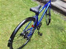 じゅん13さんのクロスバイク リア画像