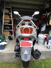 暇なバイク好きさんのV-LINK125 リア画像
