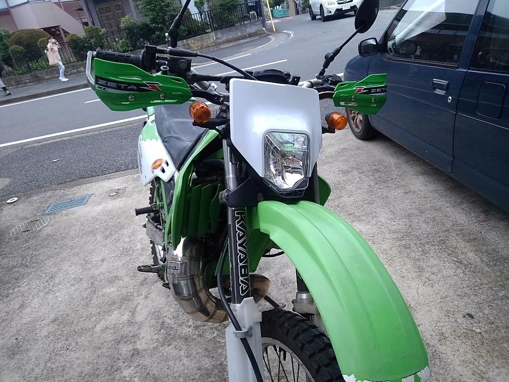 カワサキ KDX125SR