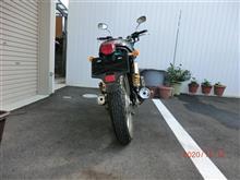 ガレージが欲しいさんのSRV250 リア画像