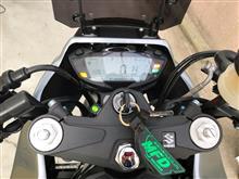 step105さんのSV650X ABS インテリア画像