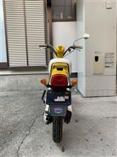 セブンとバイクが好きなオヤジさんのパッソル リア画像