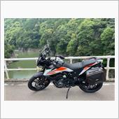 himataniさんのKTM-390-アドベンチャー