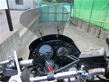 ガレージが欲しいさんのKLE250 ANHELO (アネーロ) インテリア画像
