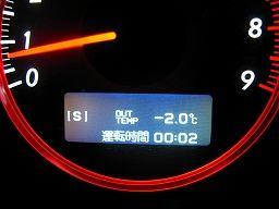 なぜか常に 「-2℃」 固定表示となってしまった
