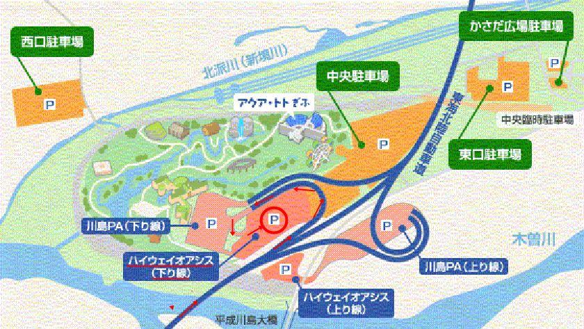 「川島パーキングエリア 上り」の画像検索結果