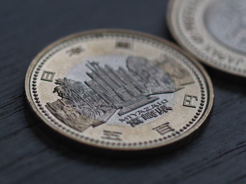地方自治法施行60周年記念5百円硬貨②
