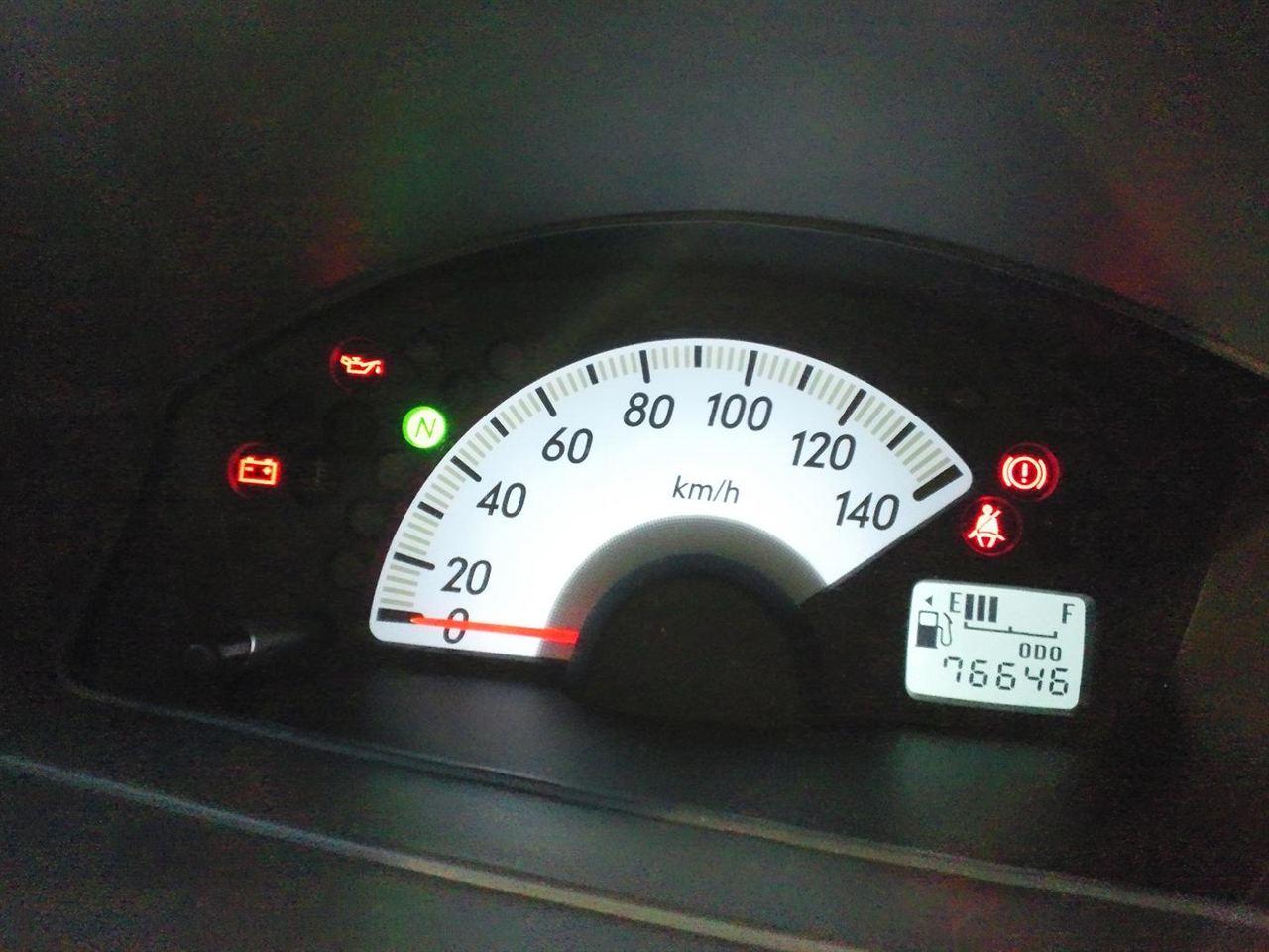 ない 減ら ガソリン メーター