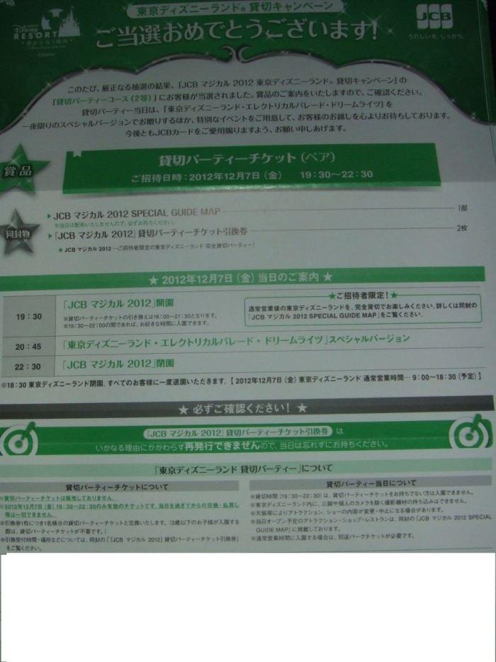 東京ディズニーランド貸切クリスマスナイトvnaruuのブログ