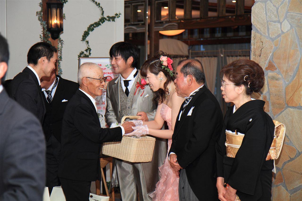 結婚 式 オカダカズチカ