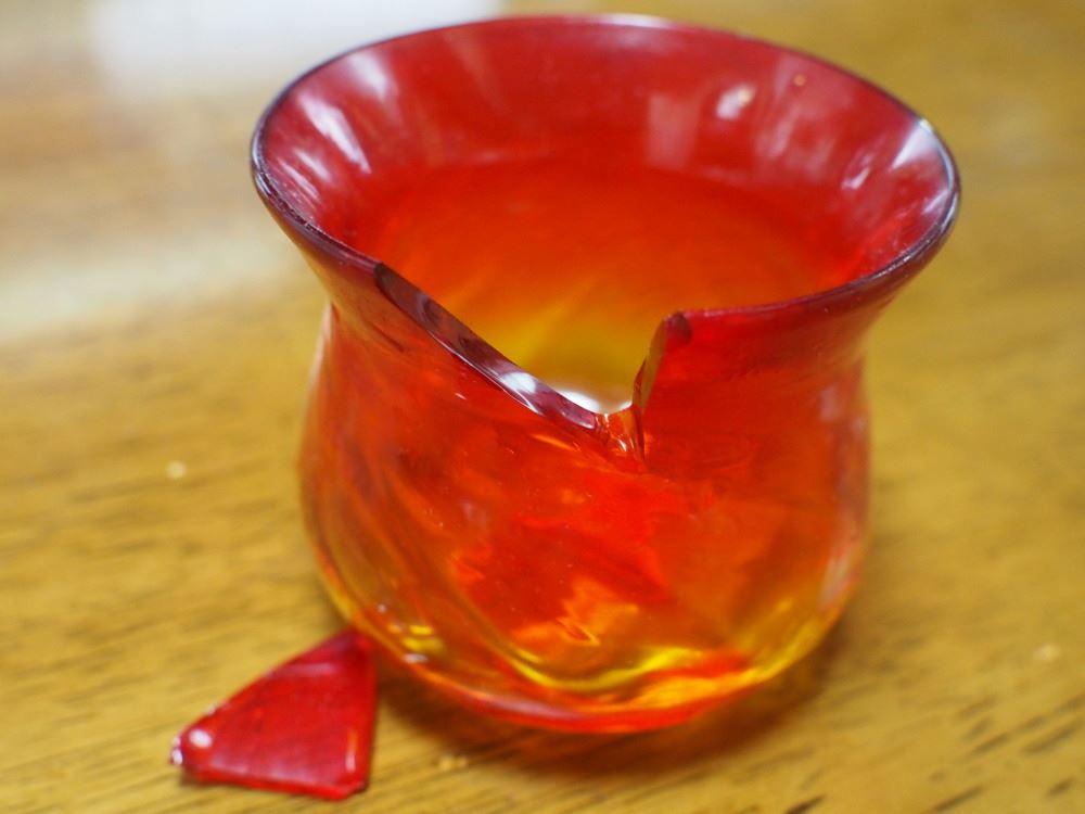 お気に入り琉球グラスぐい飲み