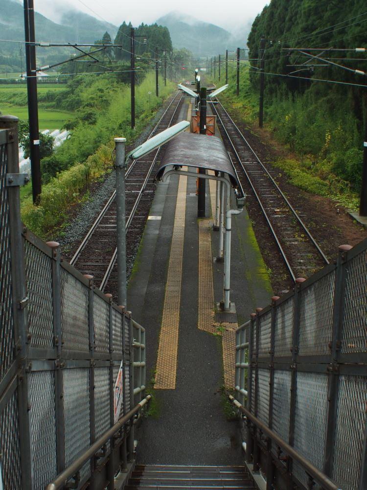 日豊本線 日向沓掛駅 跨線橋①