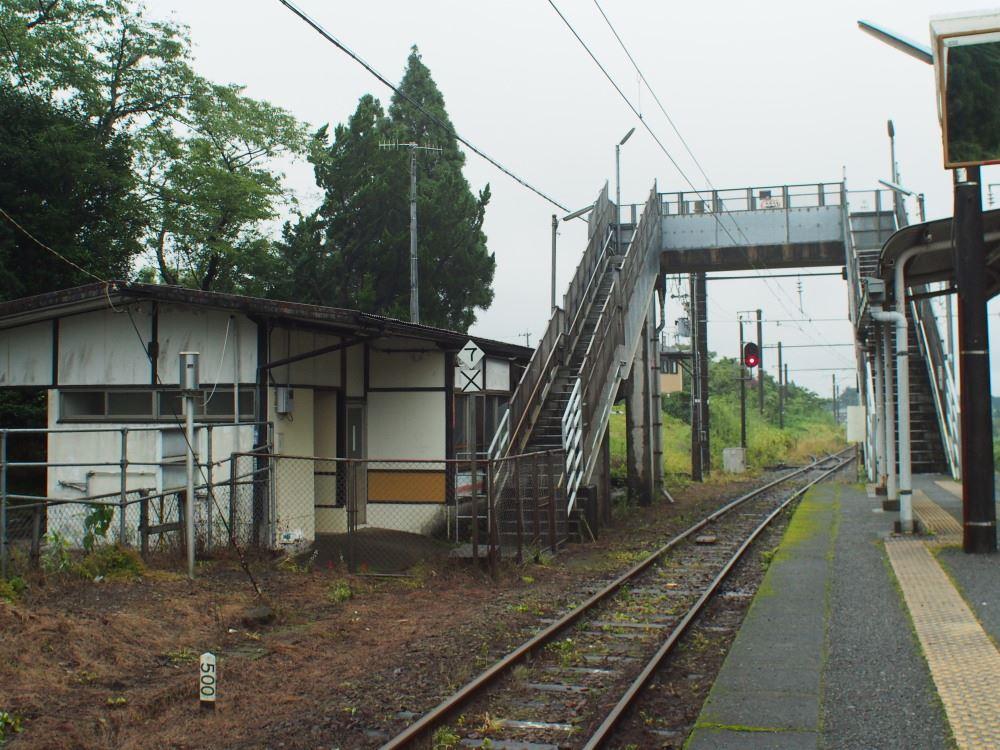 日豊本線 日向沓掛駅 跨線橋②