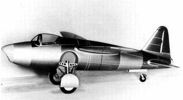 世界初のターボジェット推進機の...
