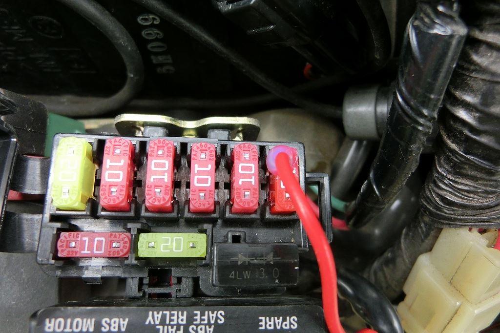 「USB電源とスマホ・ホールダーの取り付け」CB1300SBのブログ ...