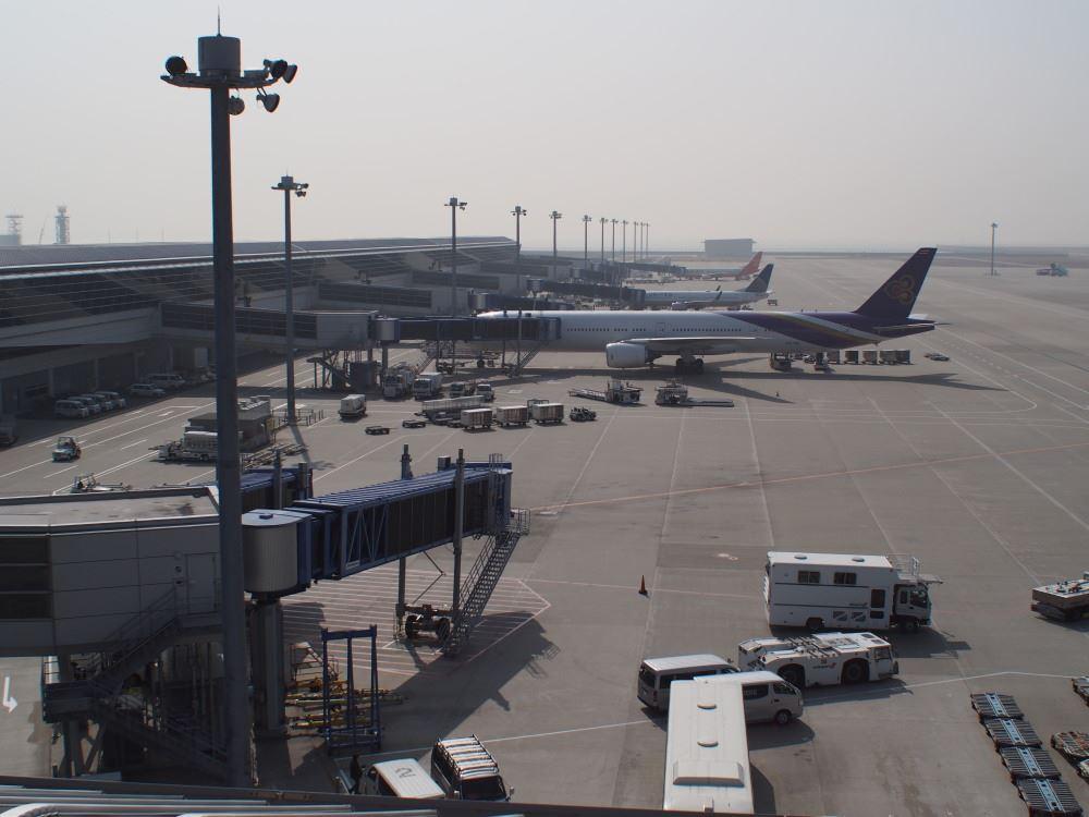 中部国際空港 4階スカイデッキ 国際線