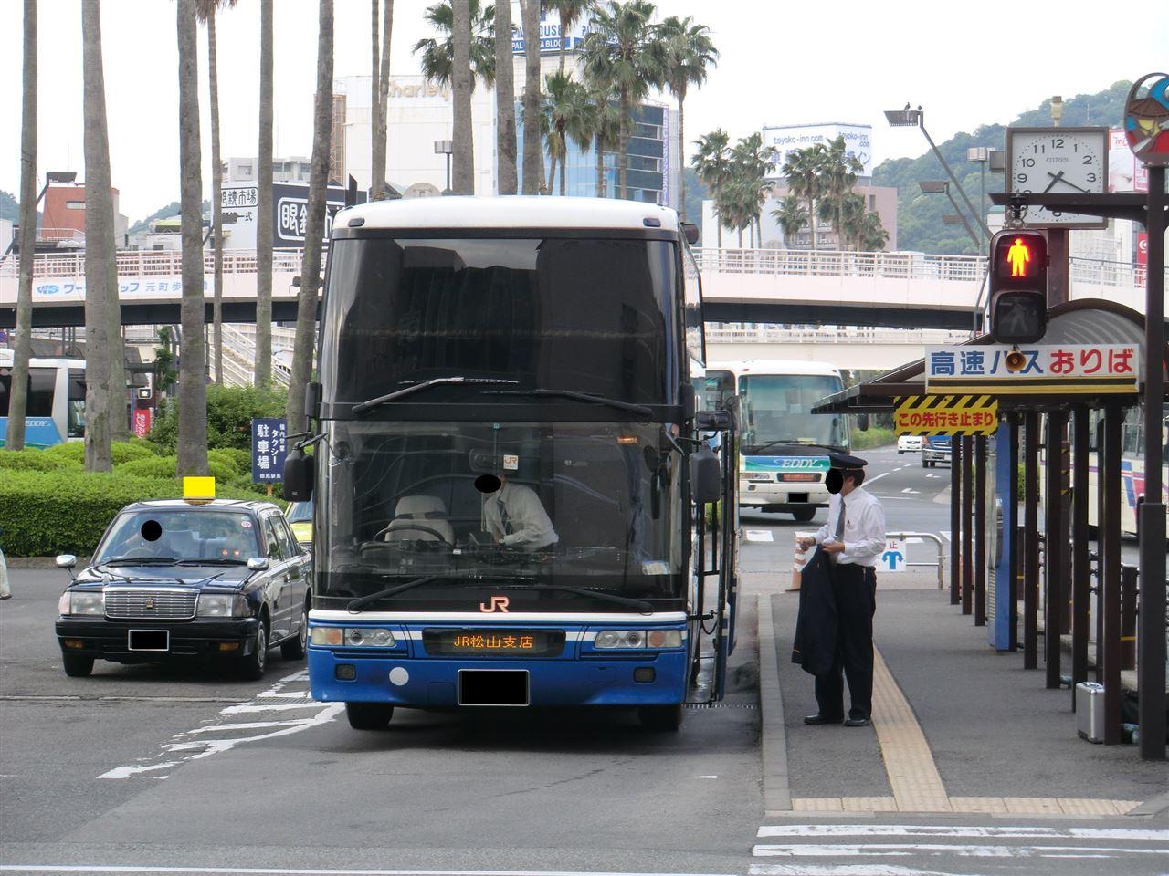 バス jr 四国