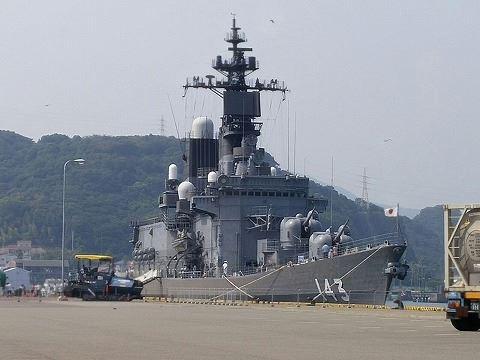 巨大護衛艦寄港」てっちゃん・の...