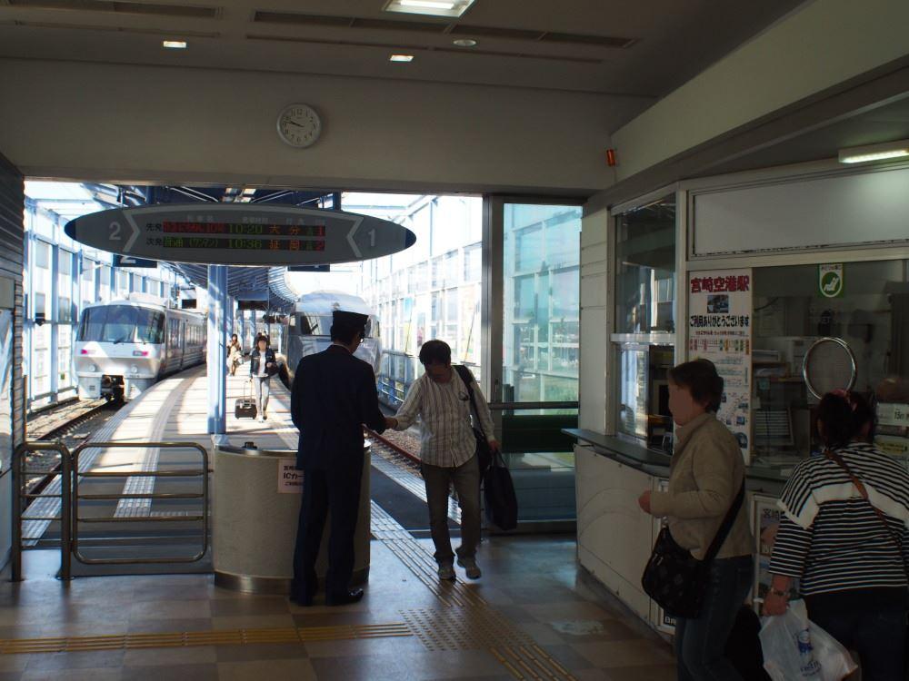 JR宮崎空港線 宮崎空港駅⑥
