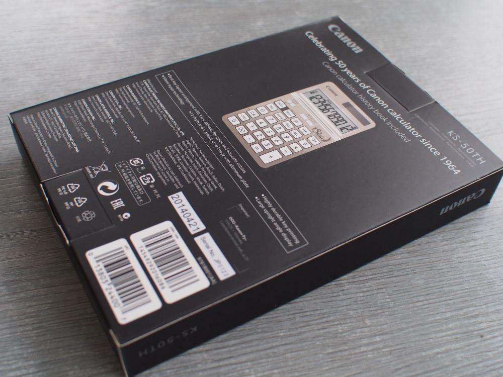Canon電卓 KS-50TH③