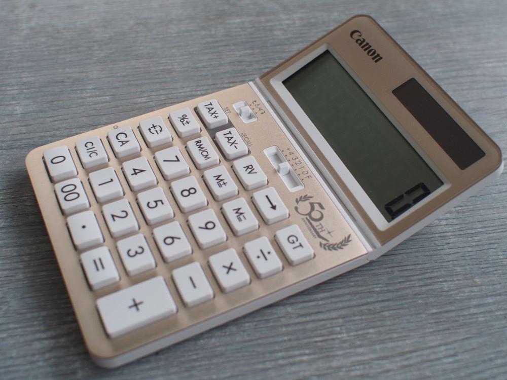 Canon電卓 KS-50TH⑥