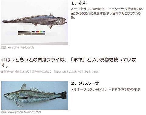 白身魚偽装