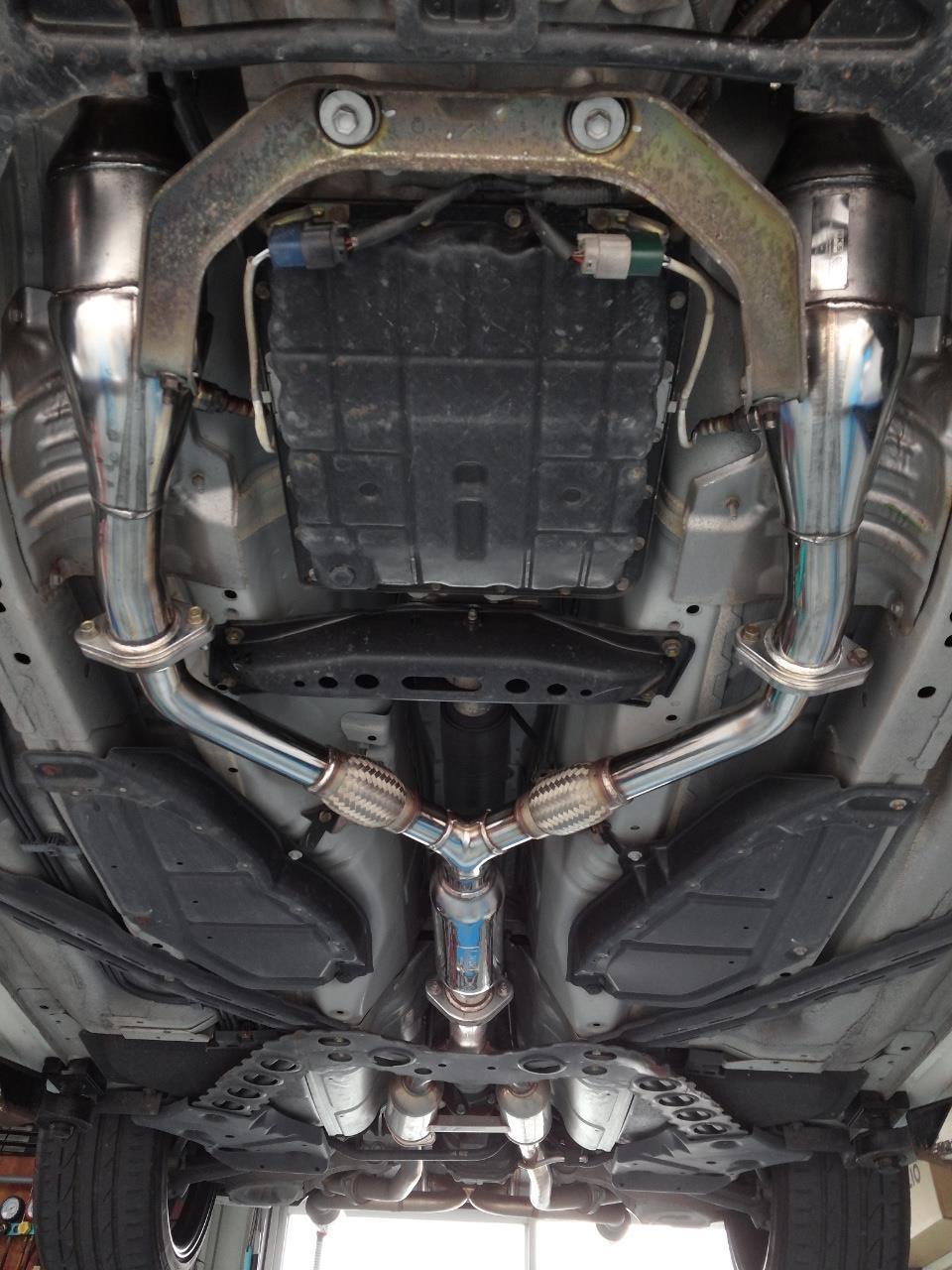 フェアレディZ ロードスター 軽量化 HKSメタルキャタライザー