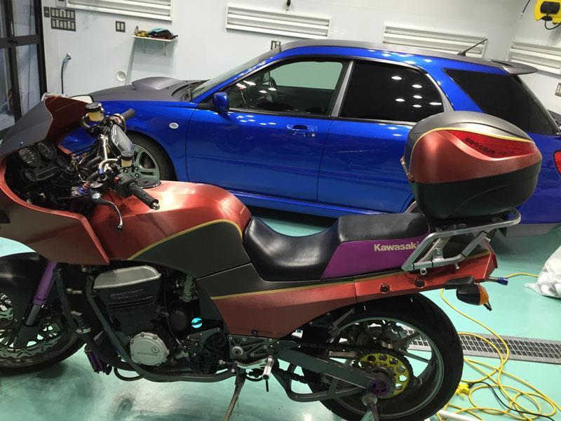 カワサキGPZ750R900Rラッピング