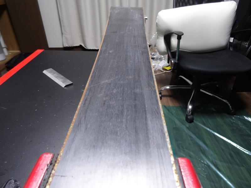 スキー 板 メンテナンス