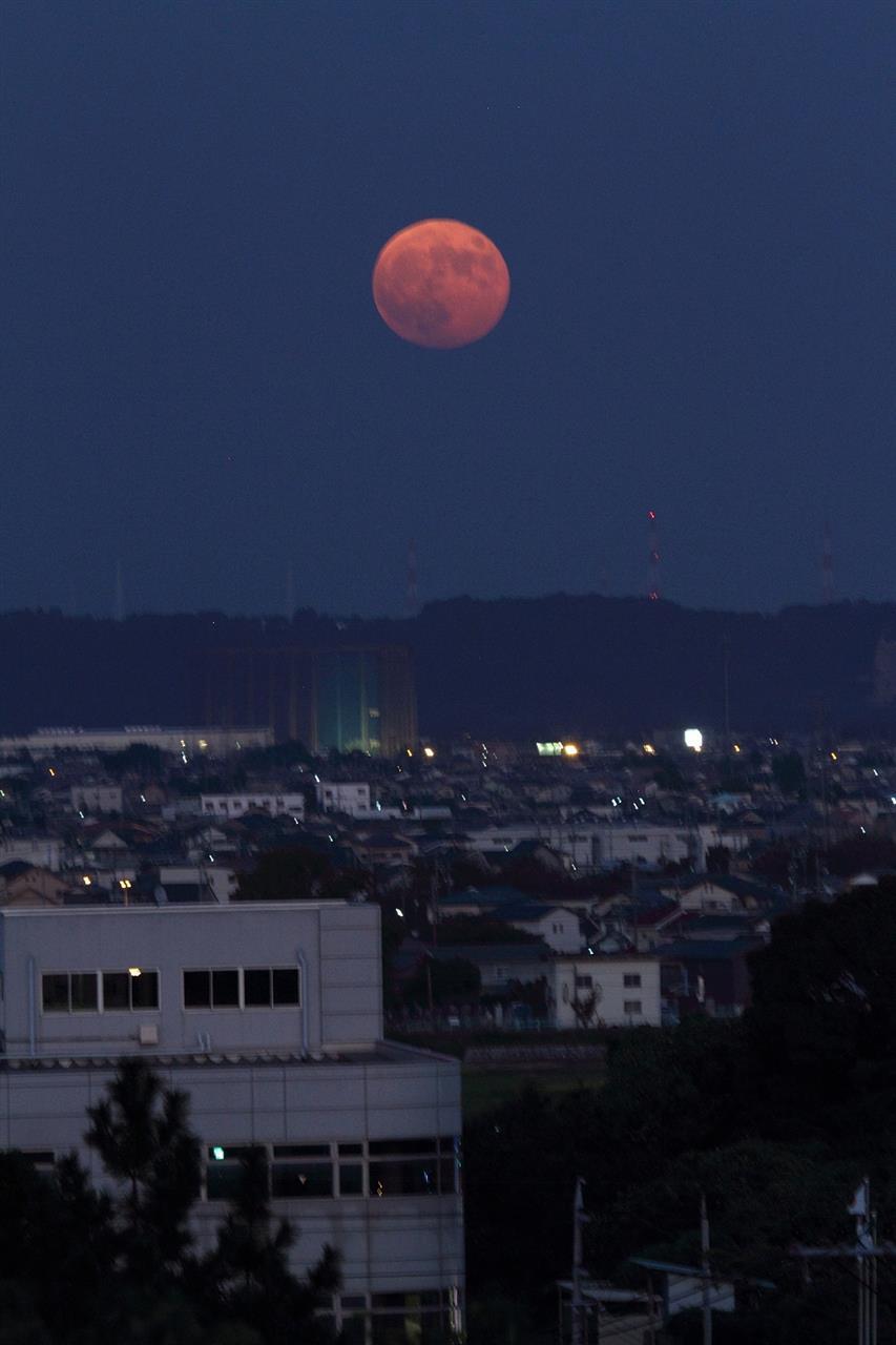 今月 満月