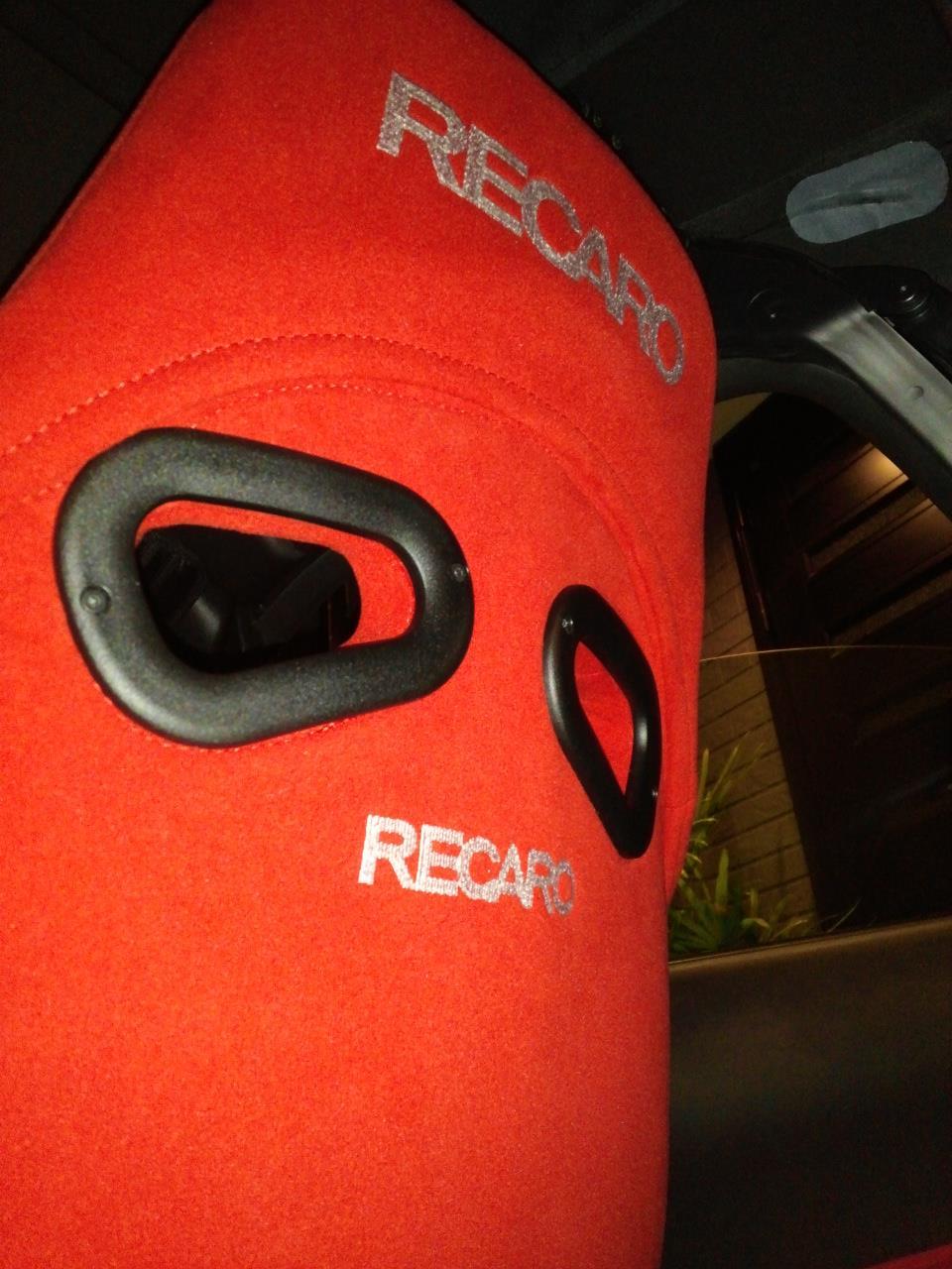 Z33ロードスター RECARO フルバケ RS-GS バックレストカバー