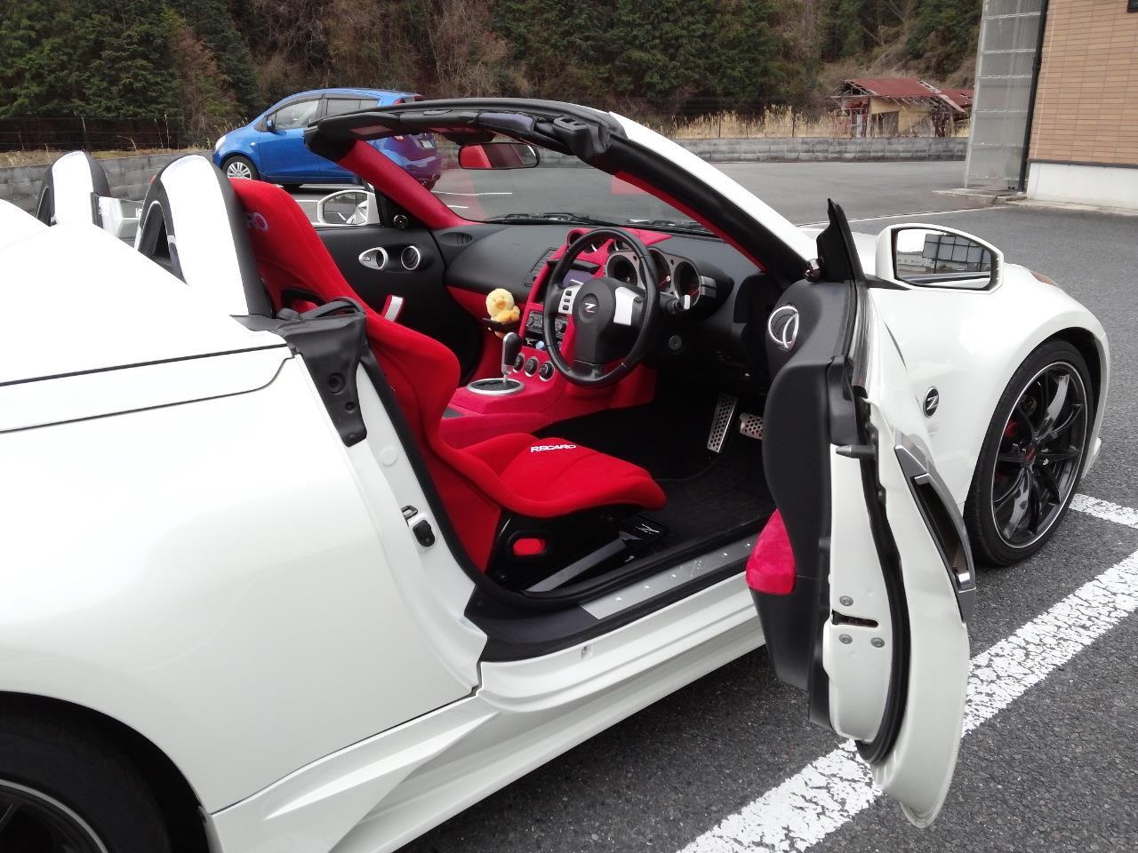 フェアレディZロードスター Z33 RECARO フルバケ RS-GS