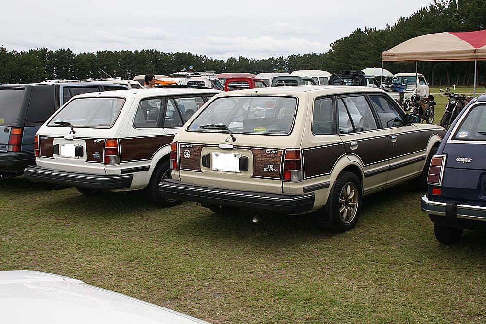 昭和のホンダ車ミーティング 参加