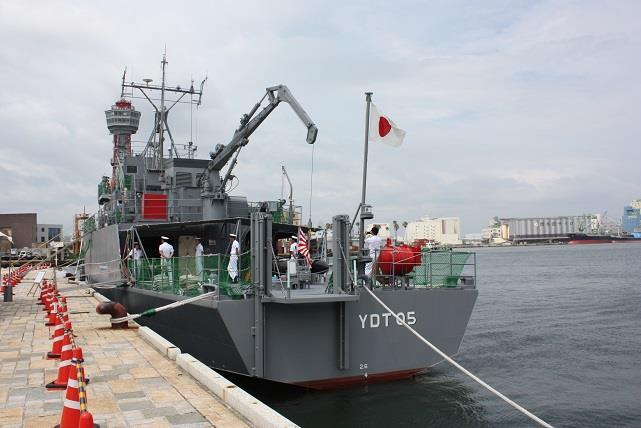 海上自衛隊船艇公開・・・」のり...