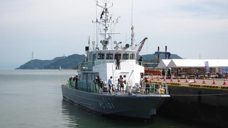 PC101巡視艇あそぎり」Marie's G...