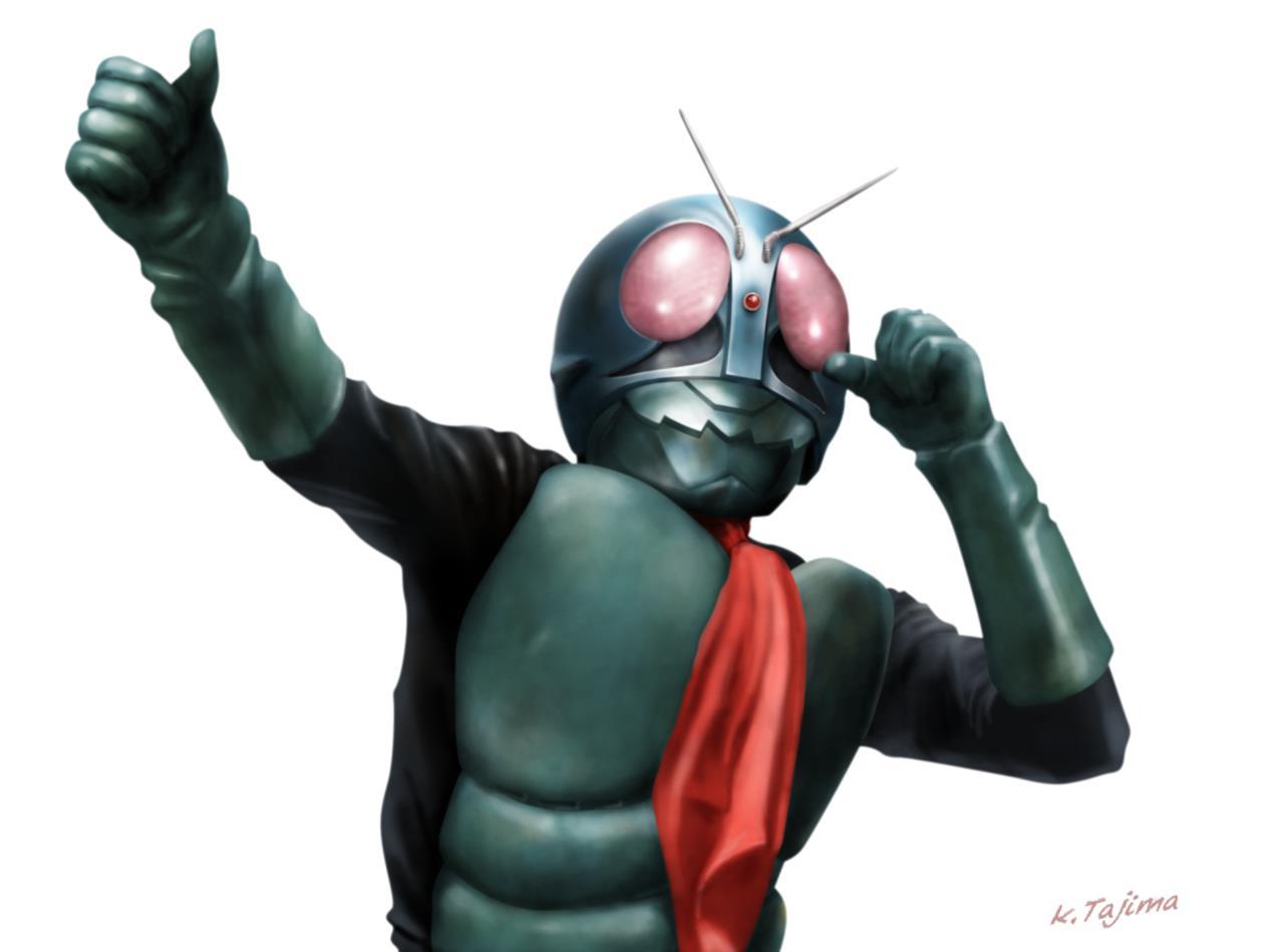 イラストギャラリー94仮面ライダー旧1号タジマ K7のブログ
