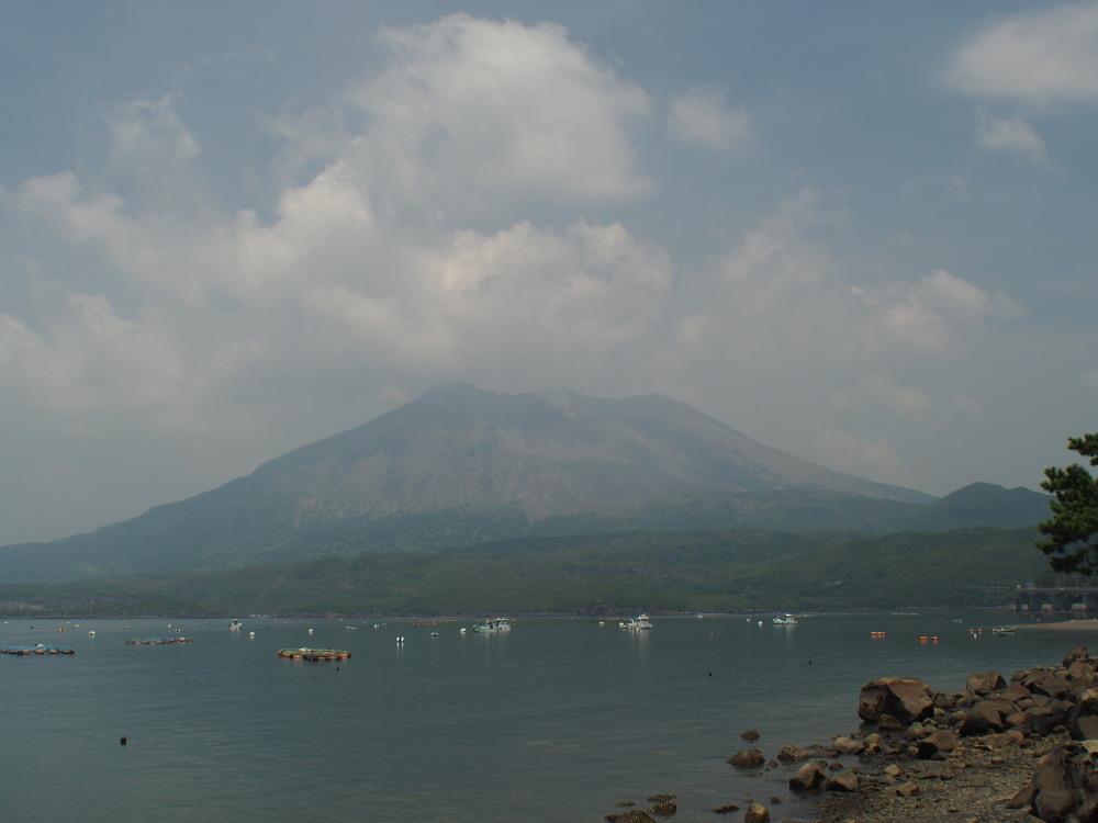 8月3日の桜島
