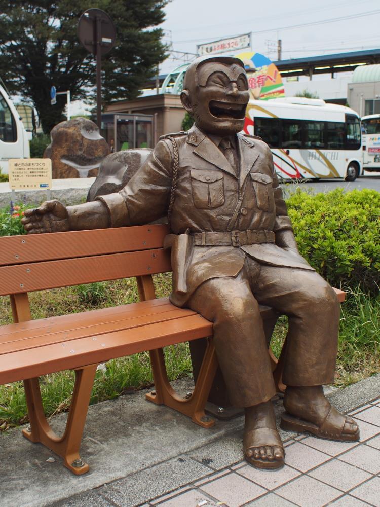 JR常磐線 亀有駅 南口 銅像③