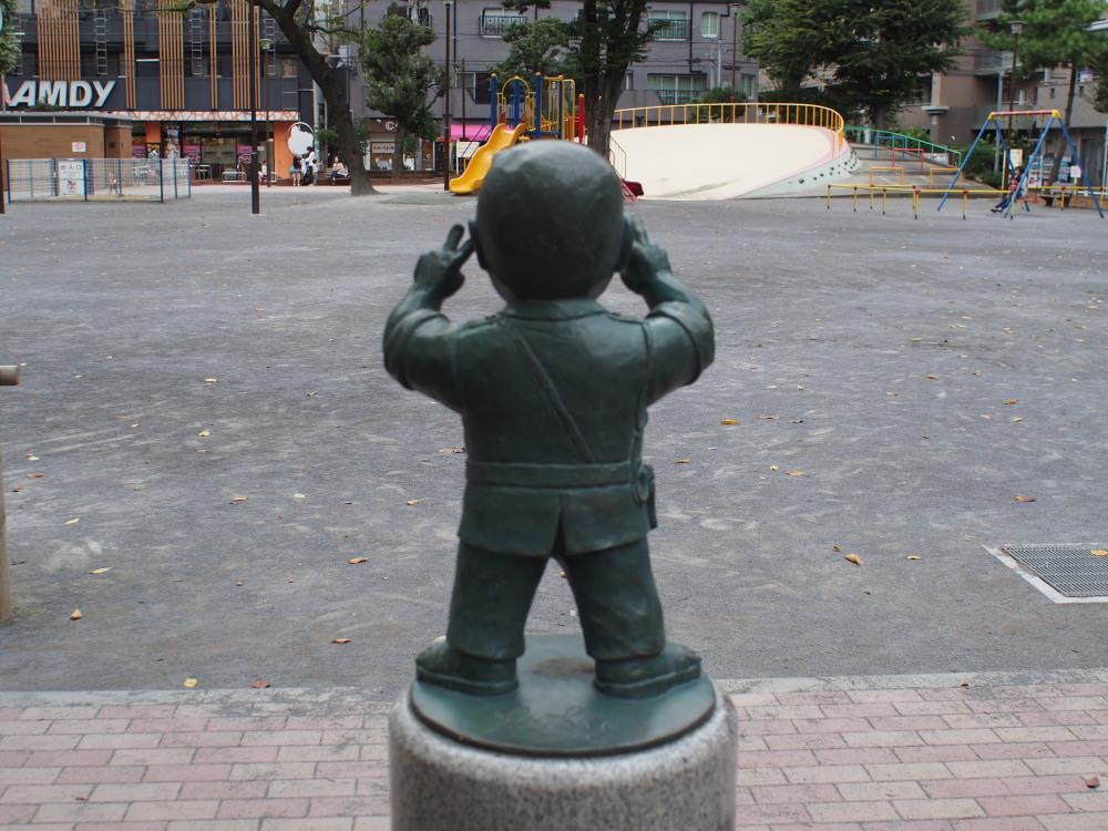 JR常磐線 亀有駅 亀有公園銅像①