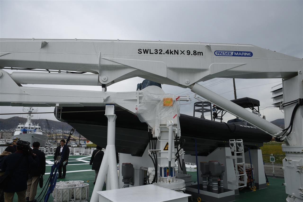 1000トン型巡視船PL-12えさん 」...