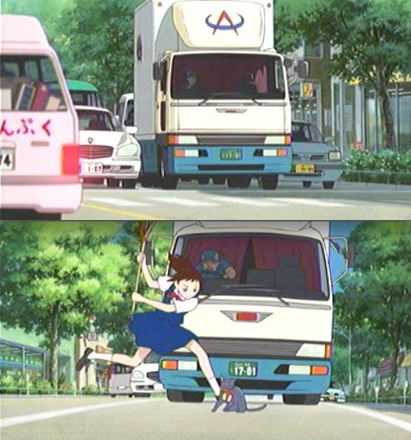 それもいいけど、あのトラックは本当はヤマト運輸にしたかったと思う。 妥協してあのカラーリングなんだと思うよw 連想させるんだよ。