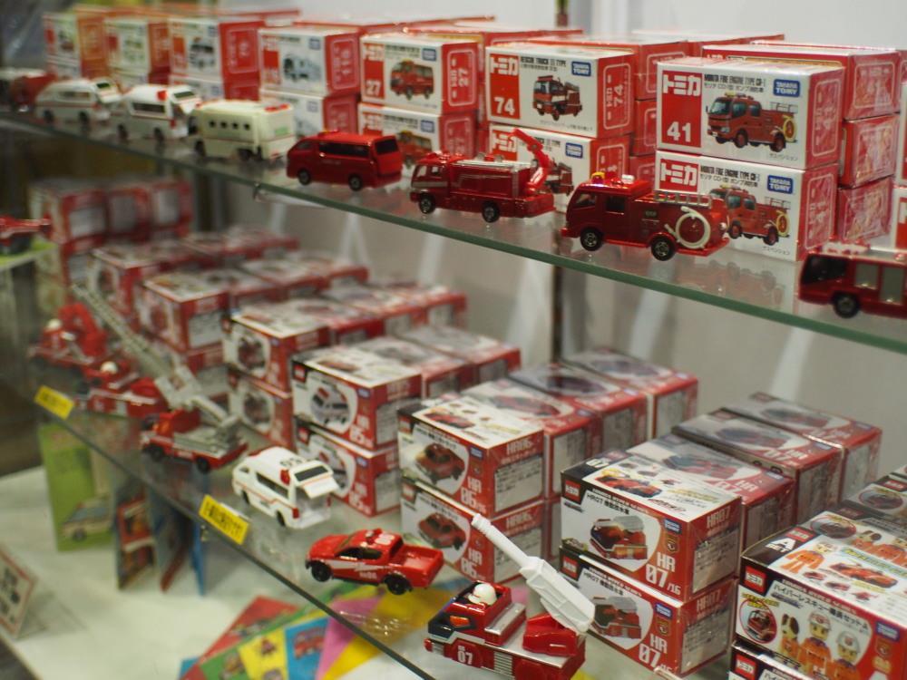 消防博物館 売店