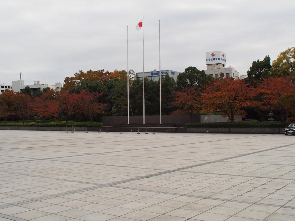 防衛省 市ヶ谷地区見学ツアー 儀仗広場
