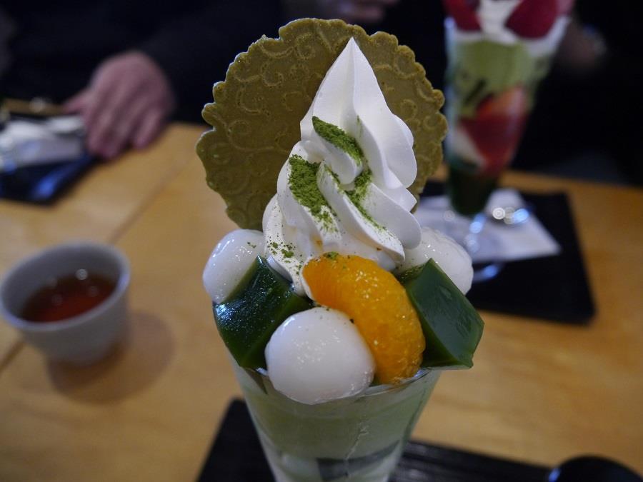 伊藤久右衛門 抹茶パフェ