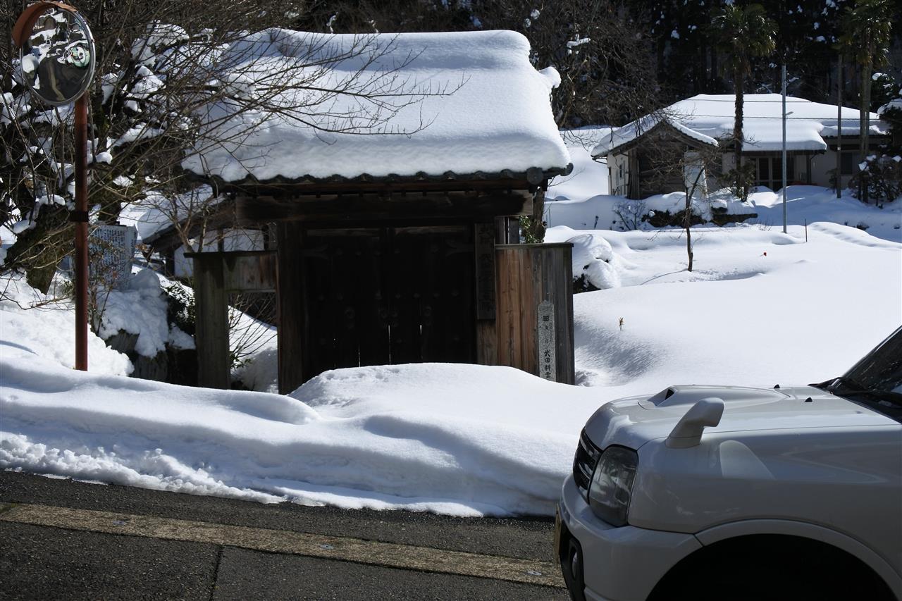 1月26日 雪景色・地酒・水戸天狗党♪