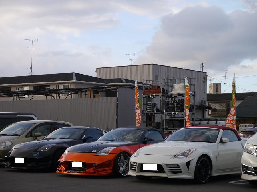 フェアレディZ Z33ロードスター 京都