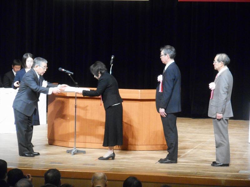 「竹島の日」記念式典に出席